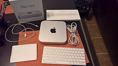 Apple Mac mini Late 2014 500gb SSD Magic Keyboard & Tracpad