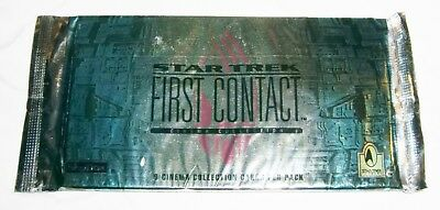 STAR TREK First Contact 9 Cinema Cards Sealed Pack Skybox