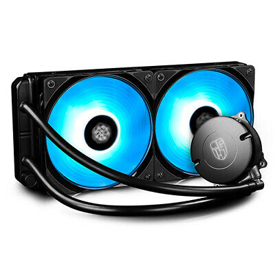 Deepcool Gamer Storm Maelstrom 240 PC Gaming RGB AIO Liquid Cooling