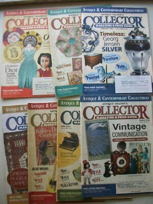 The Antique Trader's Price Magazine & Price Guide (7) 2006 Issues