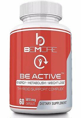BE ACTIVE Thyroid Supplement Vitamin Thyroid Support Complex Diet Support Pill