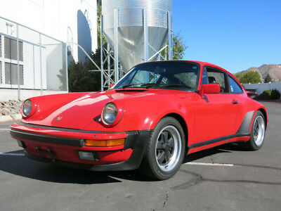 1986 930 Coupe Red Porsche 930 with 83,112 Miles available now!
