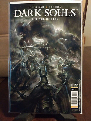 Dark Souls: The Age of Fire #4 (of 4) FC 32 pgs Variant Covers