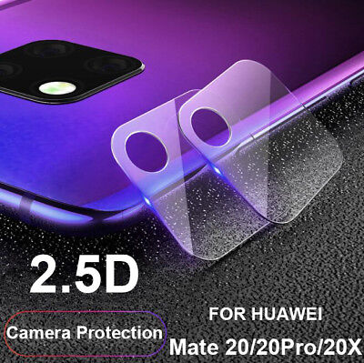 Clear Tempered Glass Film 2.5D Camera Lens Protectors For Huawei Mate 20 Pro 20X