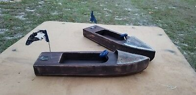 Vintage Rustic Wooden Boats