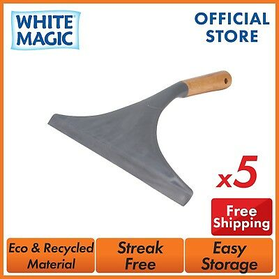 White Magic Eco Basic Window Cleaning Squeegee Bulk Buy Discount 3/5/10/20pcs