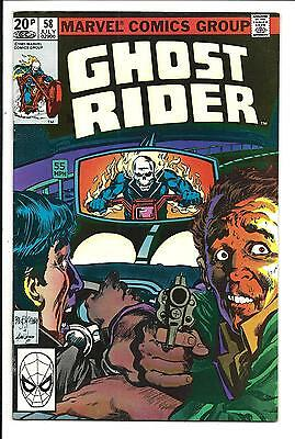 GHOST RIDER (Vol.1) # 58 (UK Pence Variant, JULY 1981), VF/NM