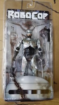 7'' Robocop Moveable Action Figure Battle Damaged Version W/ Original Pack