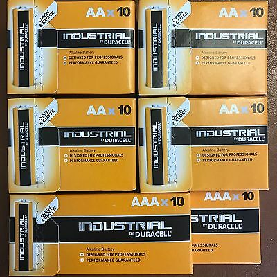 40 X Aa + 20 X AAA Duracell Industrial Pilas Alcalinas LR6, Sustituye Procell