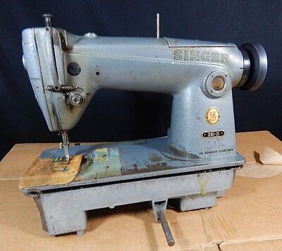 COMMERCIAL SINGER SEWING Machine Upholstery Machine W Base 4040 Best Singer Sewing Machine 281 1