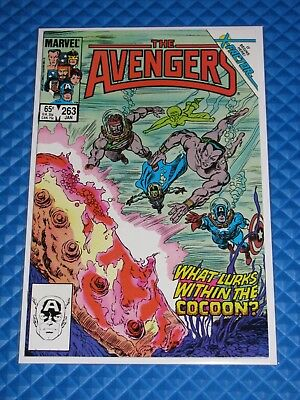 The Avengers #263 Very High Grade Copper Marvel Jean Grey 1st X-Factor (1986)