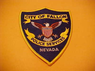 Fallon Nevada Police Patch Shoulder Size Unused Type 2