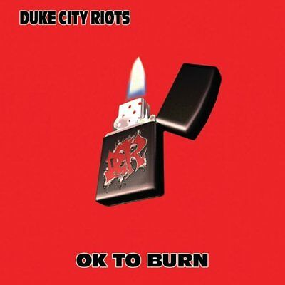 Duke City Riots-Ok to Burn CD NEUF