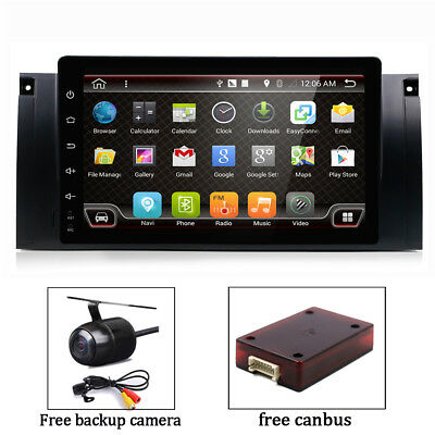 Android 7.1 Car Radio GPS for BMW 5 Series E39 X5 E53 M5 Stereo Navi Head Unit