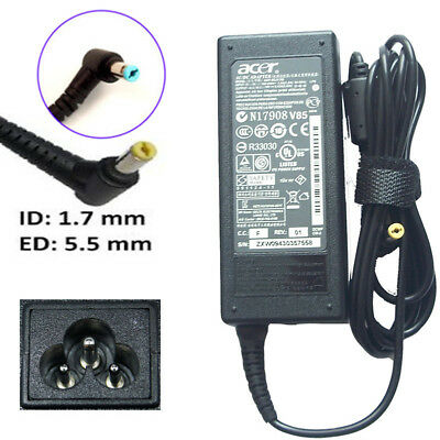 Original 19V 2.37A 3.42A 4.74A AC Charger Adapter For Acer Aspire Series 5.5*1.7