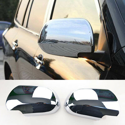 Xukey For Toyota Highlander Kluger XU40 08-13 Chrome Trim Side Mirror Cover 2Pcs