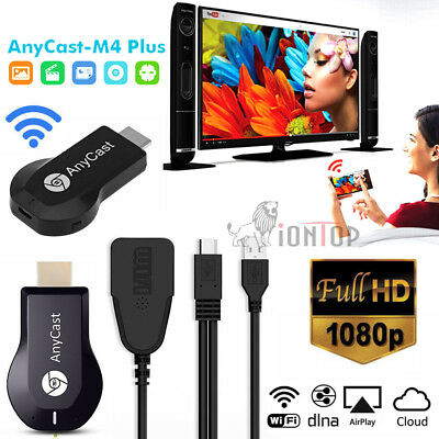 Anycast Dongle WiFi TV 1080p Airplay Display DLNA HDMI Receiver Miracast M4 Plus