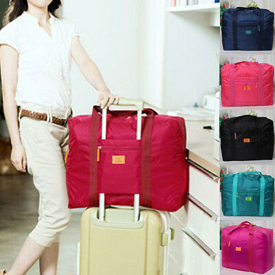 Foldable Waterproof Travel Luggage Bag Sport Duffle Tote Holdall Handbag School