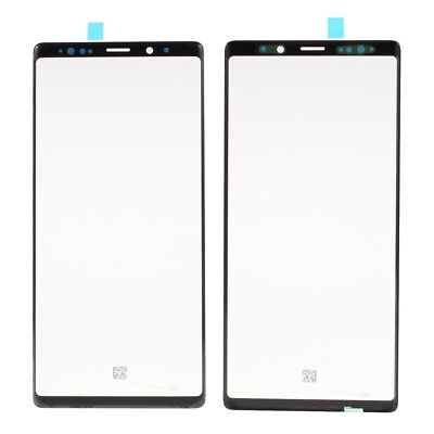 OEM Outer Front Screen Glass Lens for Samsung Galaxy Note 9 N960 - Black