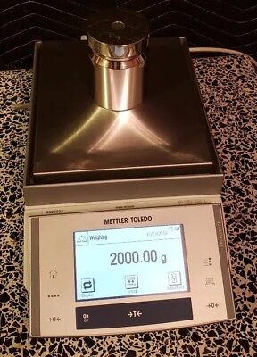 Mettler Toledo XS2002S Balance d=0.01g Max=2100.00g Lab Scale Working Great