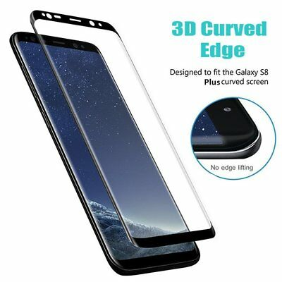 Case Friendly Tempered Glass Screen Protector For Samsung Galaxy S9 /S8 Plus Lot