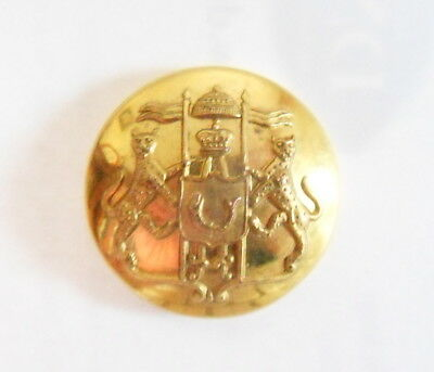 Rampur State Forces Officer's Tunic Button