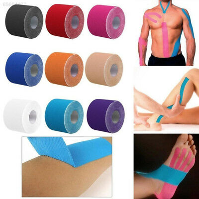 5242 Kinesiology Elastic Muscle Tape Sports Athletic Physio Therapeutic 2.5cmX5m