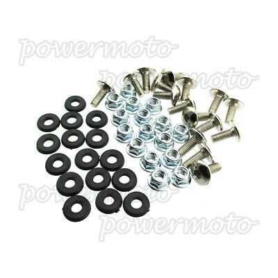 ATV Quad Plastic Fender Bolt Washer Nut Screw Kit Fits 50cc 70cc 90cc 110c 125cc