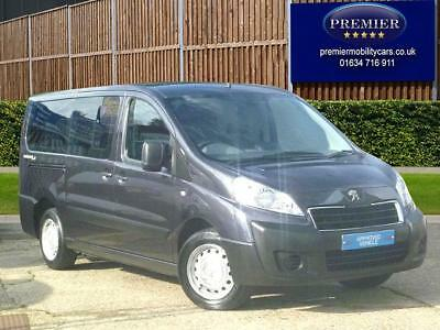 7 Seats 16,000 miles 2013 Peugeot Expert 2.0HDi Wheelchair Access - M1