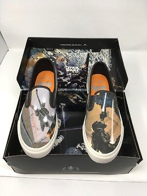 7f0605eac9b019 Sperry Cloud Star Wars Mens Slip-On McQuarrie Sneakers Shoes Size 5.5 New  in Box