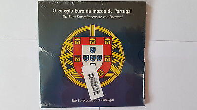 Euro KMS Portugal 2002 Bankausgabe BU Kurzmünzensatz Coin Set, RAR TOP!!!