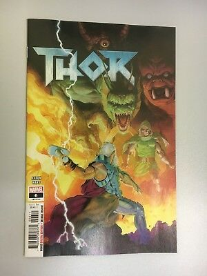 Marvel Comics - Thor #6 - 2018 - BN - Bagged and Boarded