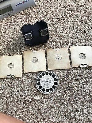 Vintage Sawyers View Master With Slides Of Hardware Cabinets