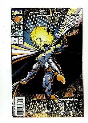 Marc Spector: Moon Knight #56, VF/NM 9.0 Stephen Platt Art