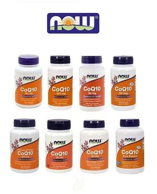 Now Foods COQ10 - all sizes - select option