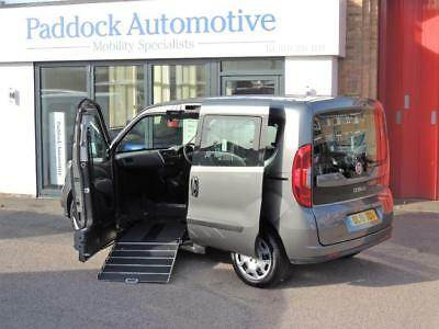 Fiat Doblo 1.6 mJet Easy Disabled Wheelchair Up Front Adapted Vehicle WAV