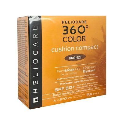 Heliocare 360° Color Cushion Compact SPF 50+ 15g - BRONZE