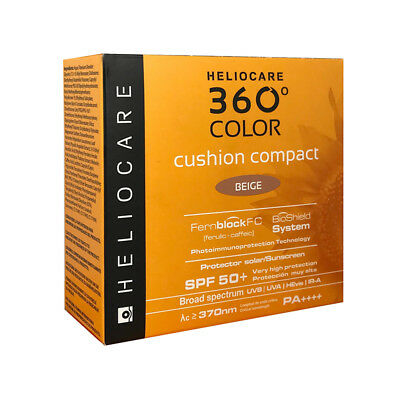 Heliocare 360° Color Cushion Compact SPF 50+ 15g - BEIGE