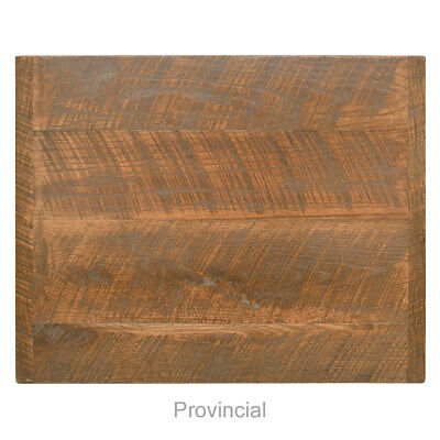 "New 24"" x 30"" Economy Urban Distressed Table Top, Provincial Finish"