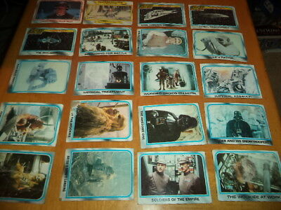 Lot of 100+ Star Wars Movie Cards The Empire Strikes Back 1980 A New Hope 1977