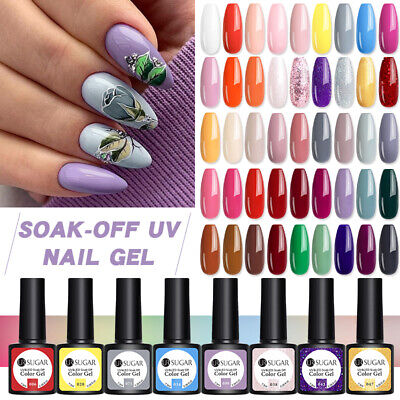 6pcs BORN PRETTY Smalto Gel Lot Nude UV Gel Colors Semipermanente UV LED Gel Set