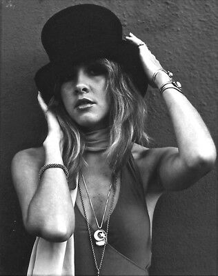 Stevie Nicks With Hands In The Hat 8x10 Photo Print