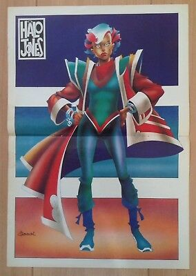Halo Jones Poster - 2000AD Sci Fi Special, Judge Dredd, Ian Gibson