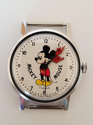 Vintage Mickey Mouse Watch c 1971 by Rich Company