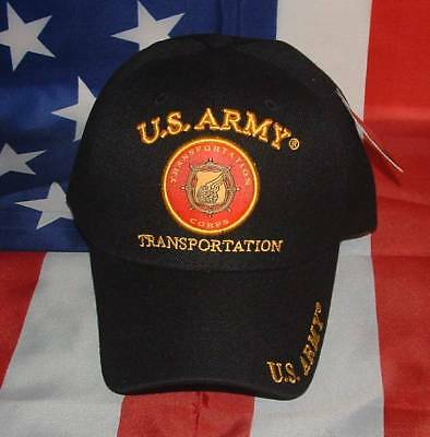 US Army Transportation Corps Embroidered Military Licensed Ball Cap/Hat.