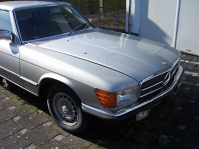 MERCEDES BENZ COUPE 280 SLC    W107    silber