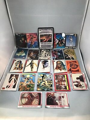 Star Wars Galaxy Topps Card Lot 1993 1994 More