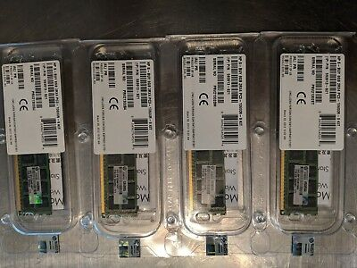 New Sealed in Box 32 GB (4X8GB) Genuine HP 593913-S21 2RX4 RDIMM DDR3-10600 ECC