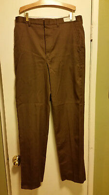 Brand New Never Worn UPS Brown United Parcel Service 34L Long Brown Pants