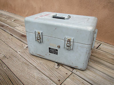 Navy Bureau Naval Weapons Control Monitor Military Case MM Electronic Enclosures